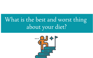 Blog post about the best and worst thing in your diet from CALMERme.com