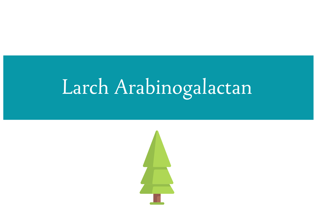 Blog post about using larch arabinogalactan for fiber and immunity from CALMERme.com