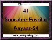 41-Soorah-e-Fussilat-Aayaat-54