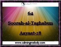 64-Soorah-al-Taghabun-Aayaat-18
