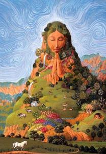 Madre Tierra de los pueblos originarios andinos