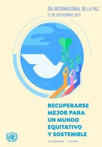Afiche ONU 2021 - Día Internacional de la Paz