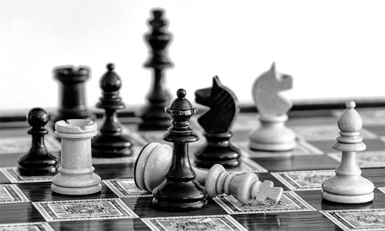 Superar el fracaso - Tablero de ajedrez