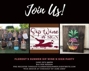 Summer Sip Wine 'n' Sign Party @ Florent Restaurant & Lounge | San Diego | CA | United States
