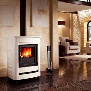 E904S Bianco with ventilation kit