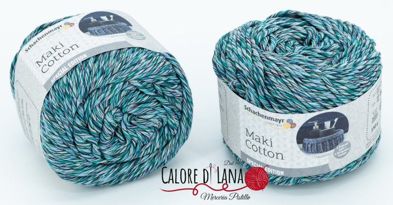 Col. 85 Maki Cotton Schachenmayr - Calore di Lana www.caloredilana.com