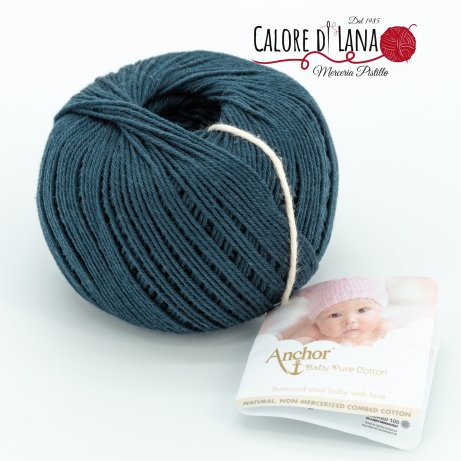 Col. 270 Anchor Baby Pure Cotton - Calore di Lana www.caloredilana.com