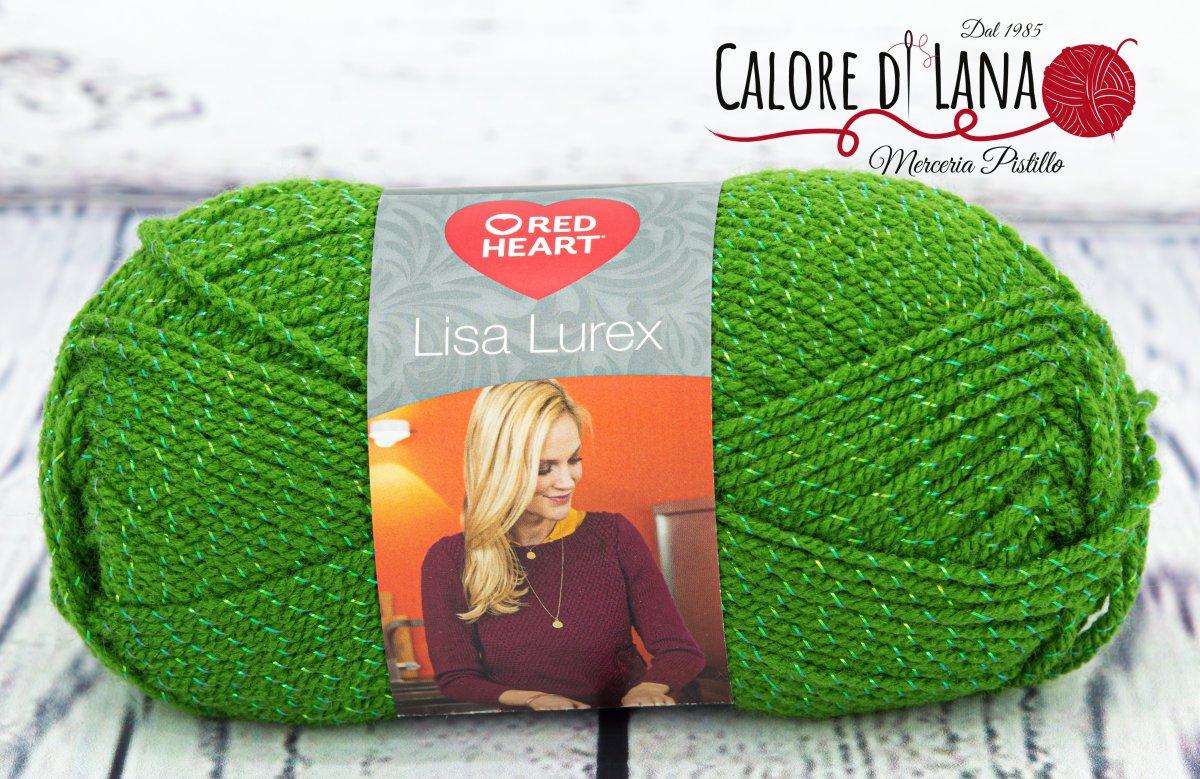 Lisa Lurex Red Heart Col. 4 - Calore di Lana www.caloredilana.com
