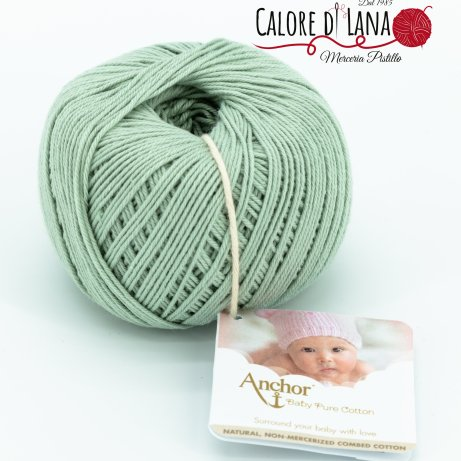 Col. 402 Anchor Baby Pure Cotton - Calore di Lana www.caloredilana.com