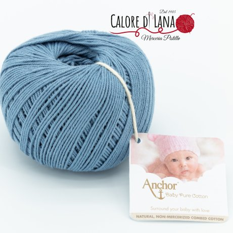 Col. 421 Anchor Baby Pure Cotton - Calore di Lana www.caloredilana.com