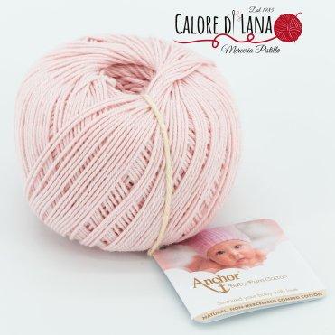 Col. 431 Anchor Baby Pure Cotton - Calore di Lana www.caloredilana.com