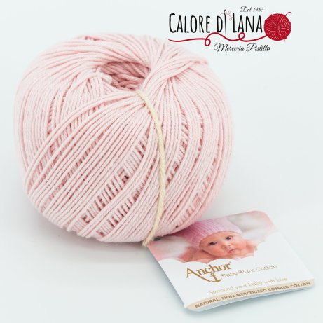 Col. 431 Anchor Baby Pure Cotton - Calore di Lana www.caloredilana.com