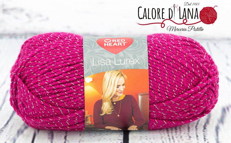 Lisa Lurex Red Heart Col. 7 - Calore di Lana www.caloredilana.com
