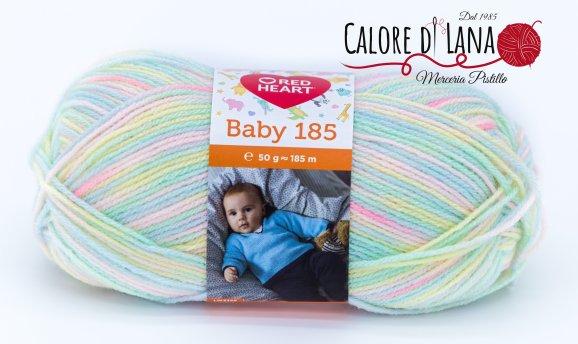 Baby 185 Red Heart - Calore di Lana www.caloredilana.com