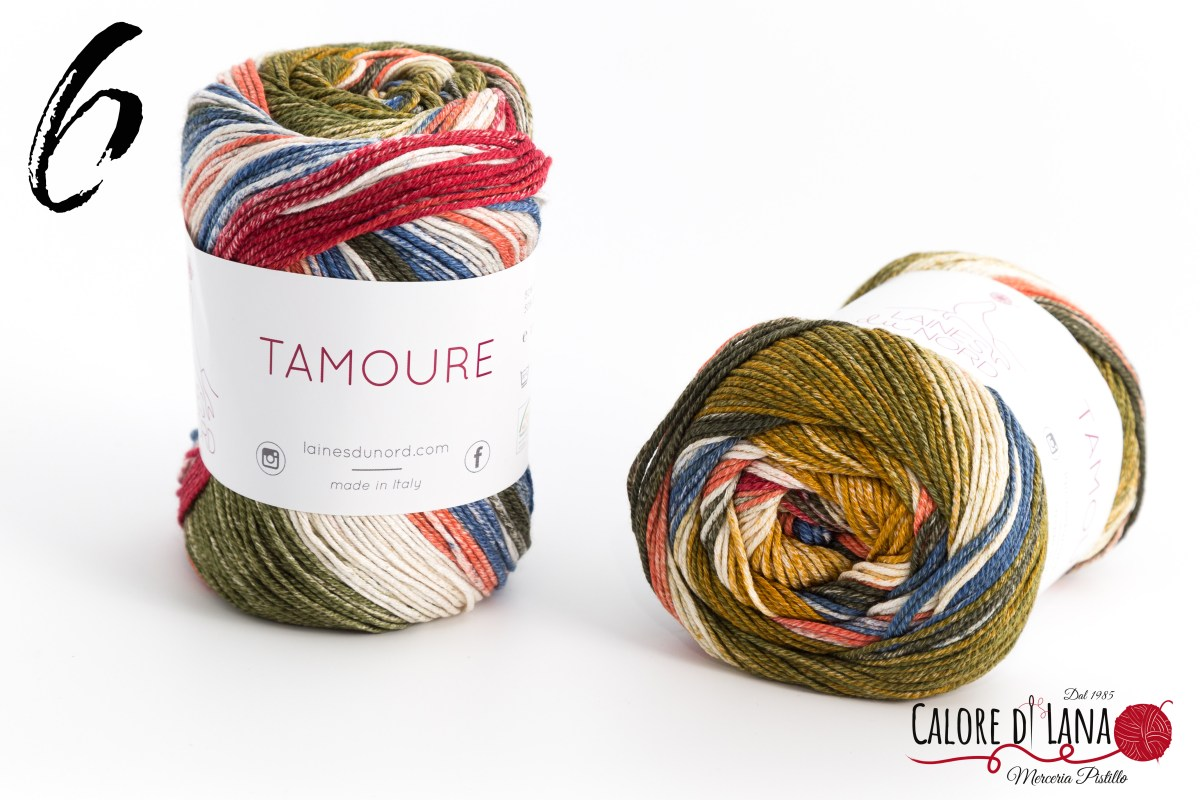 Tamoure Laines du Nord - Calore di Lana www.caloredilana.com