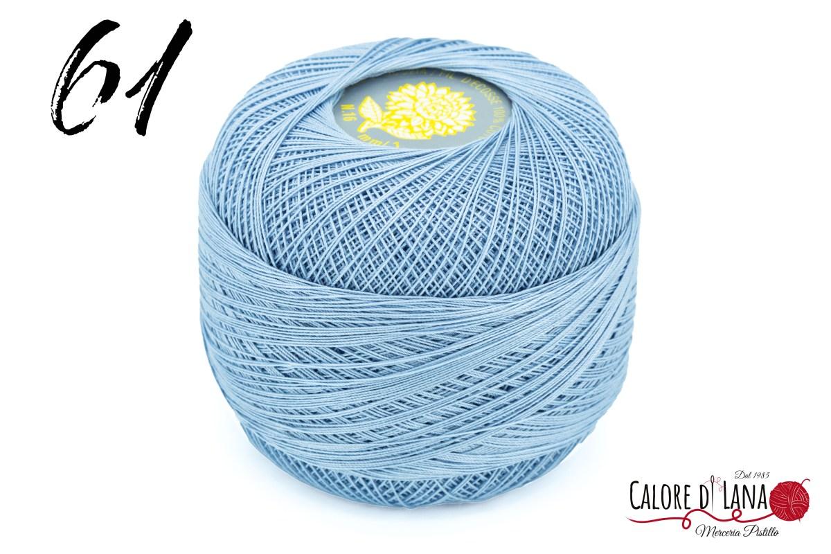 Cotone Filo di Scozia Dalia Gialla - Calore di Lana www.caloredilana.com