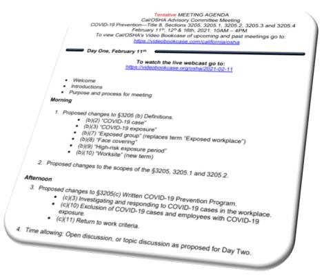 Cal ETS Advisory Committee