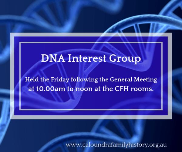 DNA Interest Group Banner