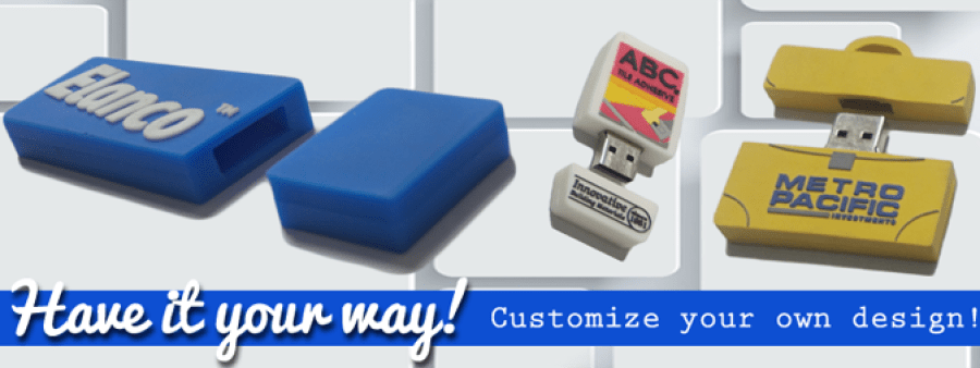 customized usb flash drives