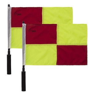 OFFICIAL'S CHECKERED LINESMAN'S FLAG