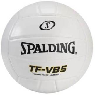 SPALDING TF-VB5 TOURNAMENT LEATHER VOLLEYBALL