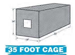 35 FOOT CAGE