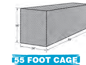 55 SLOW PITCH CAGE