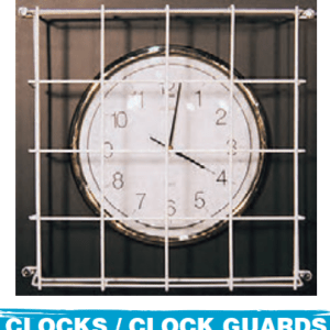 CLOCKS/CLOCK GUARD