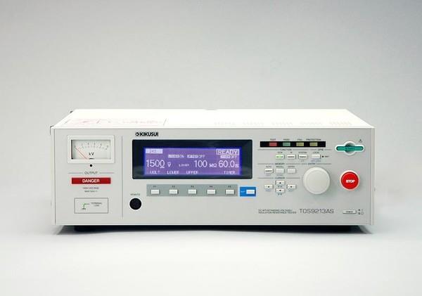 Kikusui TOS9213AS Hipot and Insulation Resistance Tester