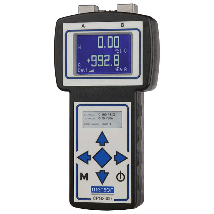 Mensor CPG2300 Portable Digital Pressure Gauge