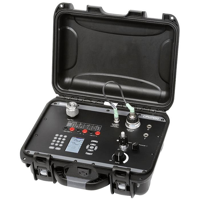 Wika CPH7650 Portable Pressure Calibrator