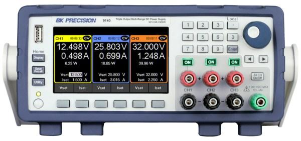 B&K Precision 9140 Triple-Output Multi-Range DC Power Supply