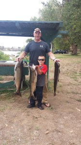 Some excellent king salmon caught in the Sacramento this month. (MSJ GUIDE SERVICE)