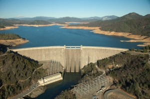 The hatchery just below Shasta Dam will need water coolers to help protect water-starved salmon. (CALIFORNIA DEPARTMENT OF WATER RESOURCES)