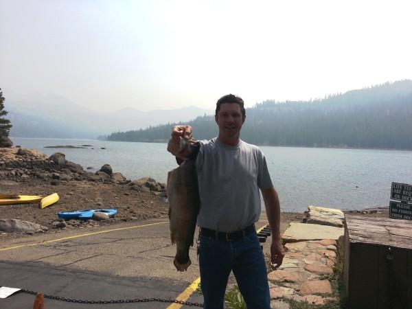 Huge caples lake 39 bow landed for Caples lake fishing report