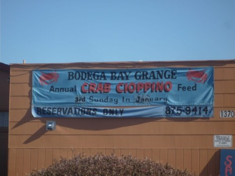 Bodega Bay is one of the communities being affected by the emergency closure of Dungeness crab fishing. (CHRIS COCOLES)