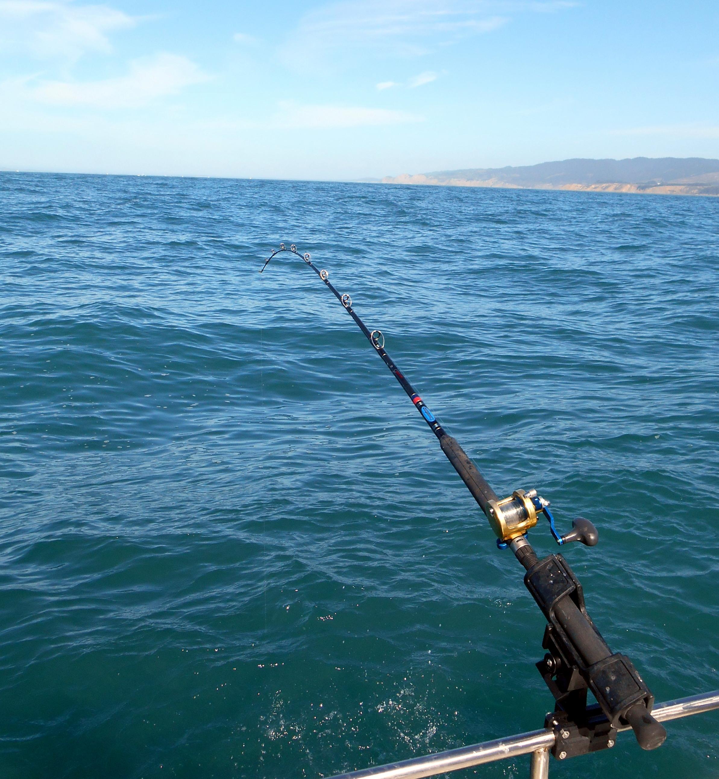 rockfishing through the golden gate -, Fishing Reels