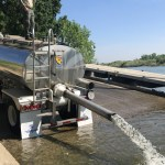 CDFW On Feather River Salmon Smolt Release