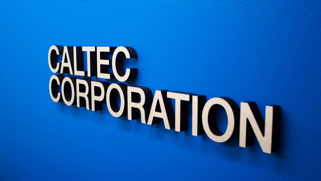 CALTEC Corporation Sign