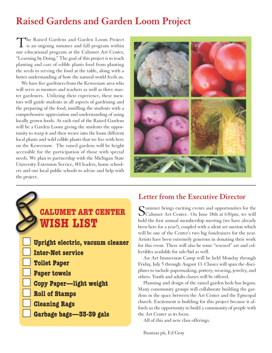 spring 2010 newsletter, page 2