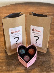Box of chocolates and Calusa Coffee Bags