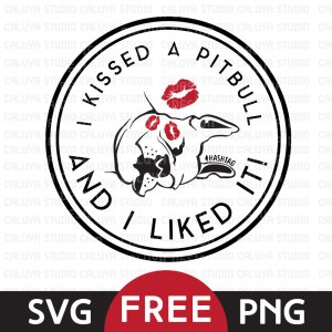 Pit Bull Free SVG