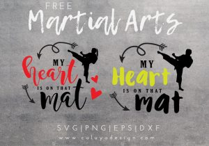 Martial Art free SVG