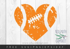 Free Distressed Heart SVG