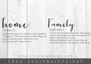 Free Family Definition SVG