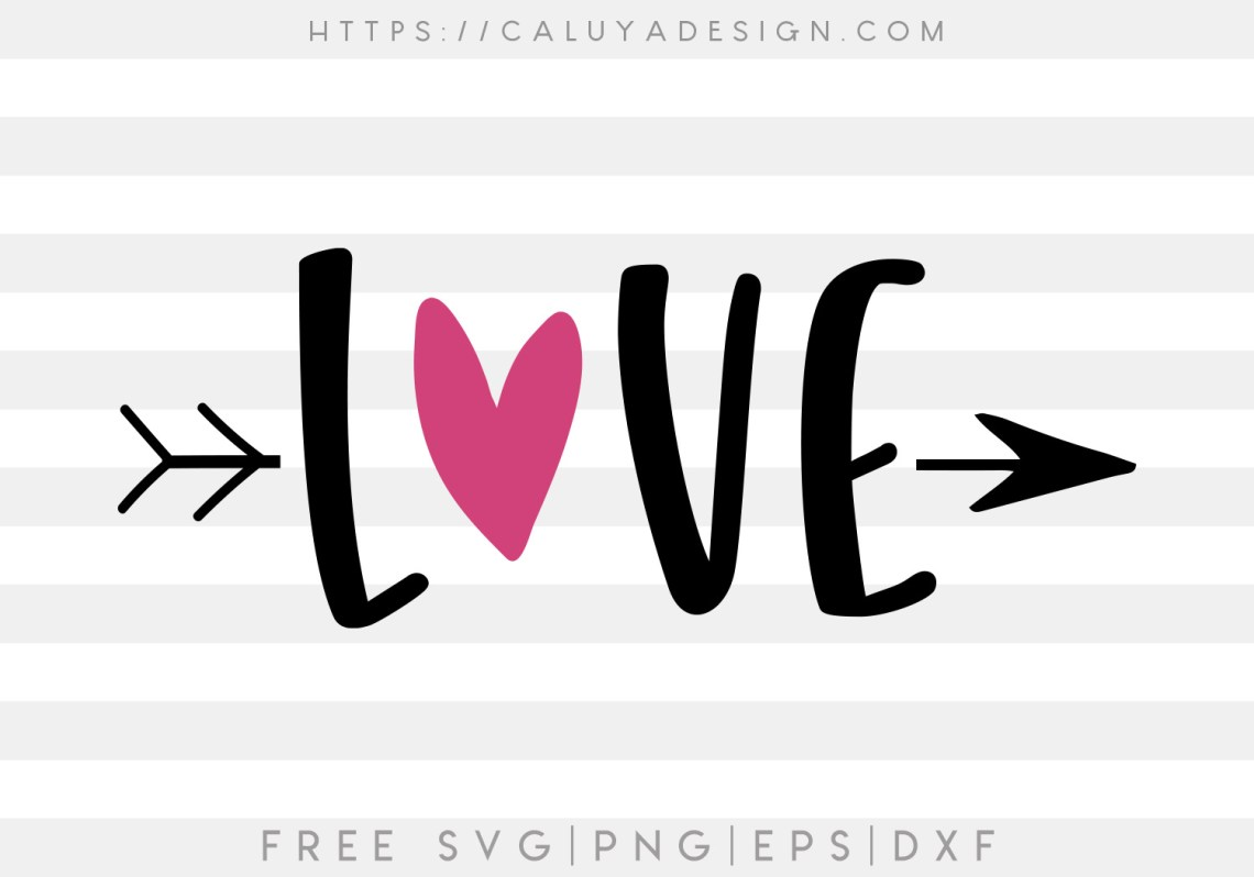 Download Free Love SVG, PNG, EPS & DXF by Caluya Design