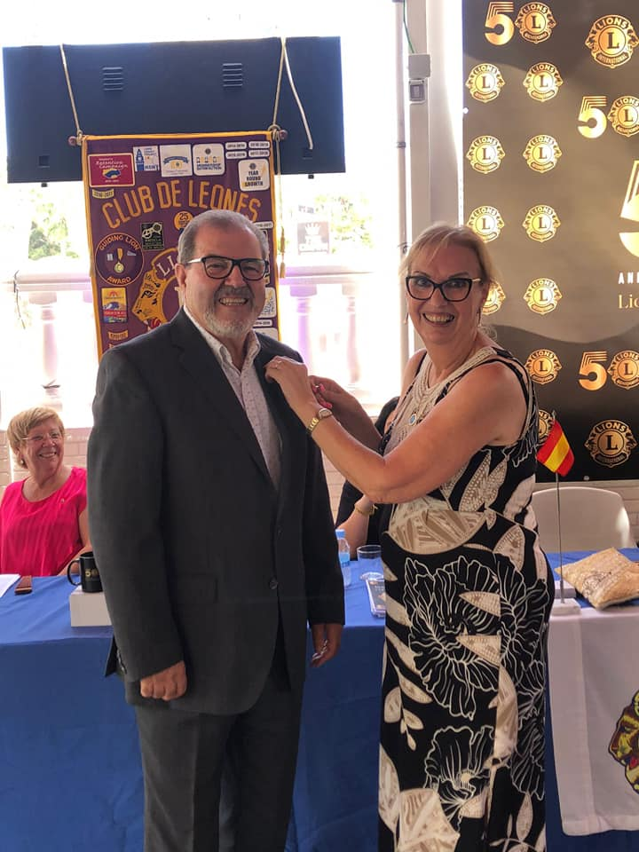 Juanjo Galiana, nuevo presidente del Club de Leones de Benidorm