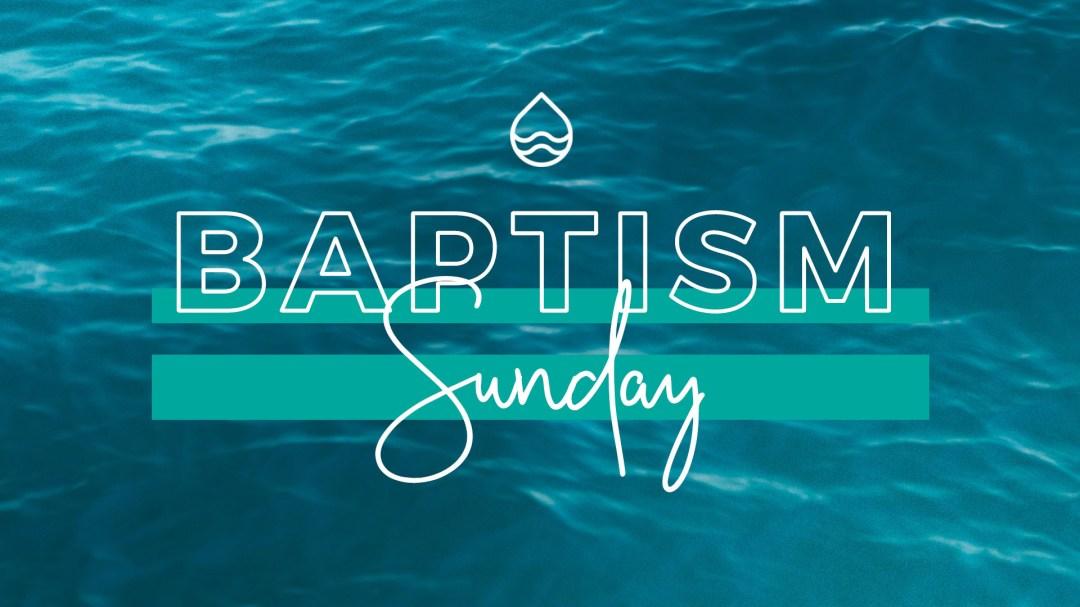 Calvary Church Baptism Sunday held at Sand Key Park, Florida