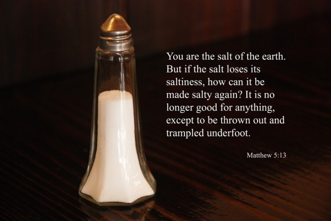 You Are the Salt of the Earth Calvary Catonsville