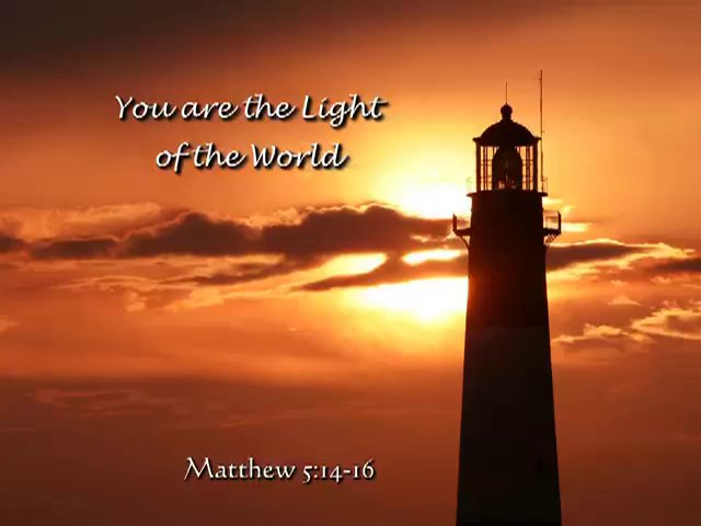You are the Light of the World Calvary Catonsville
